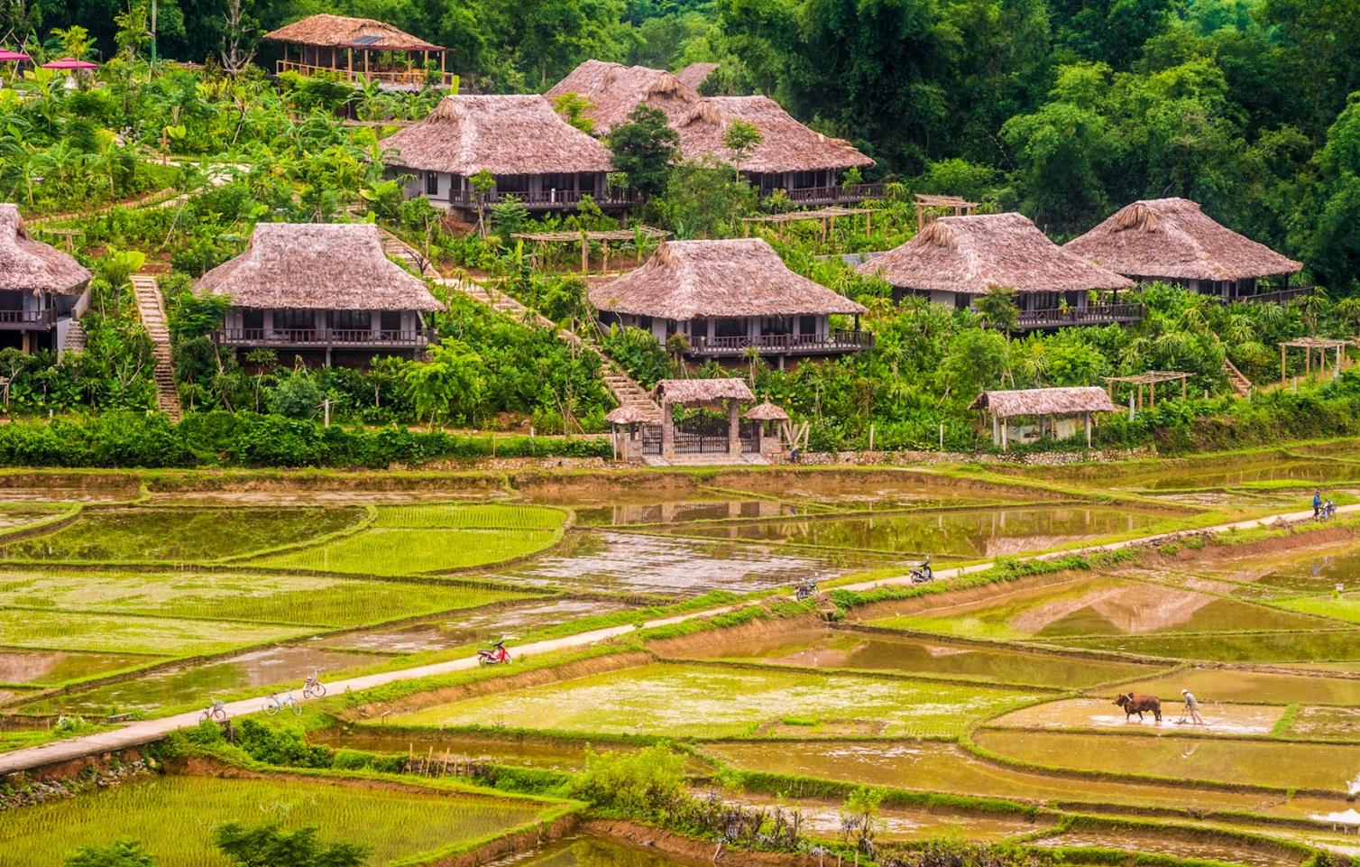 Bản làng cổ Mai Châu - Bản Lác