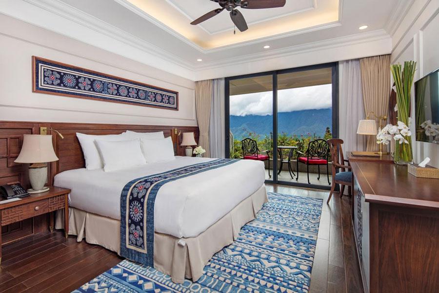 Một phòng nghỉ tại khách sạn Silk Path Sapa du khách có thể tham khảo