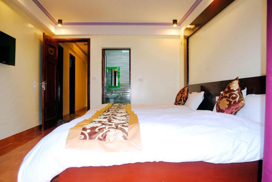 Phòng nghỉ được trang bị đầy đủ thiết bị tiện nghi tại Sapa New Hostel